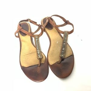 Frye Flats Laurel Beaded Size 7